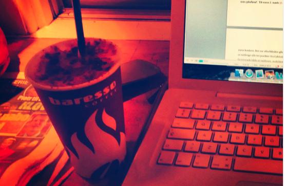 Chai latte Baresso