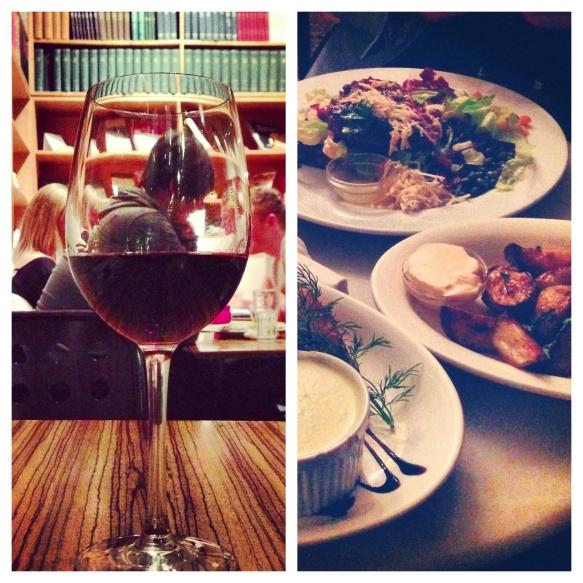 Vin og mad Paludan's