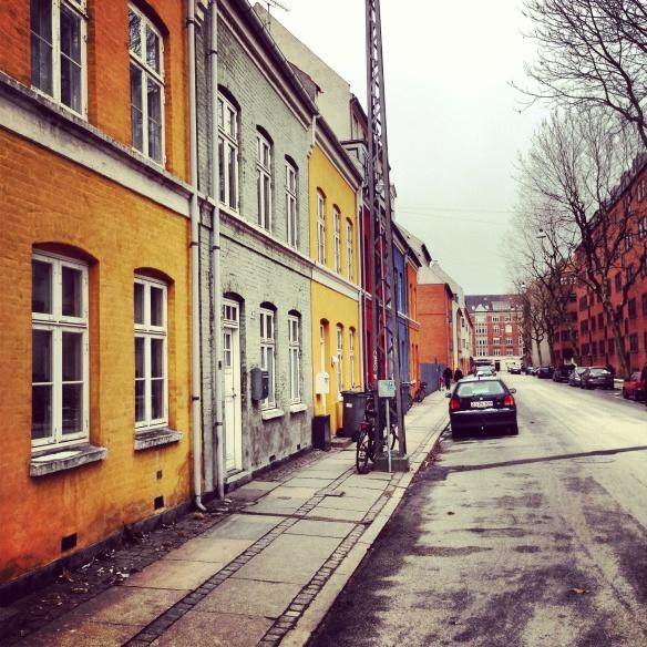 Brigadevej og sne