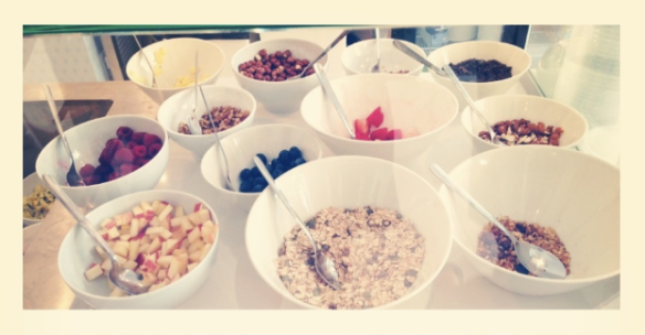 Toppings The Yoghurt Shop