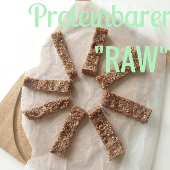 Raw proteinbarer