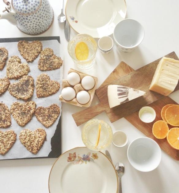 Knækbrød og ost fra Naturmælk
