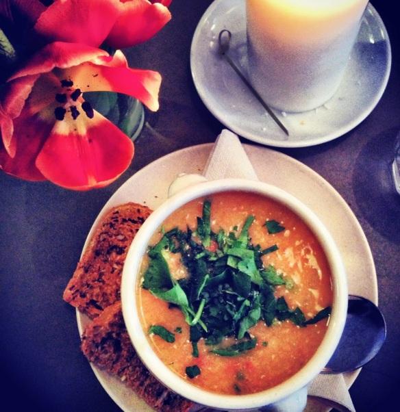 Suppe på Cafe N