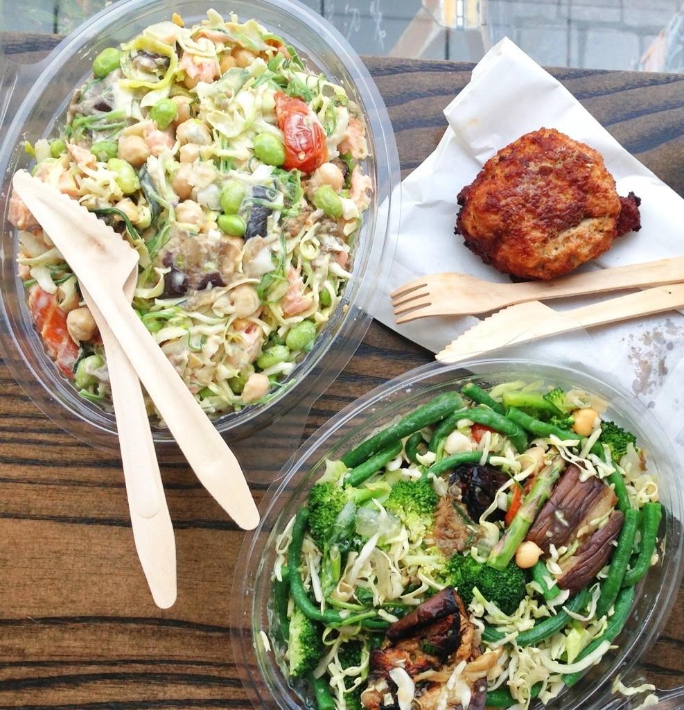"Anmeldelse: ""Bland-selv-salat"" hos Wedofood i Kødbyen"