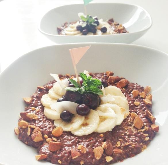 GRØD til morgenmad: Chokolade chiagrød