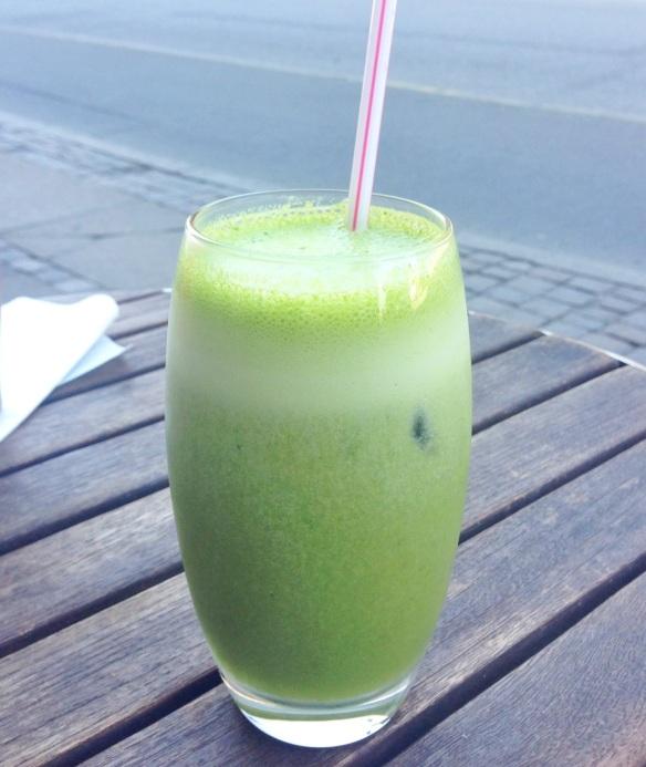 Popeye-juice hos Det Vide Hus