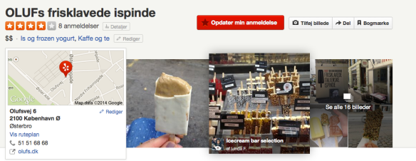 Yelp: OLUFs ispinde