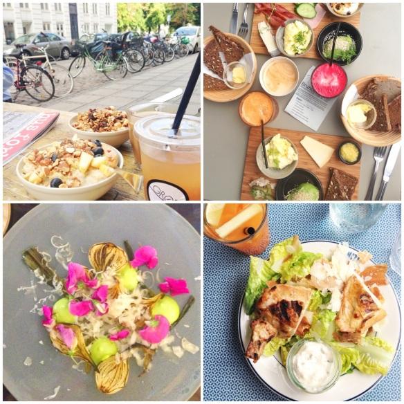 Sommermad i København