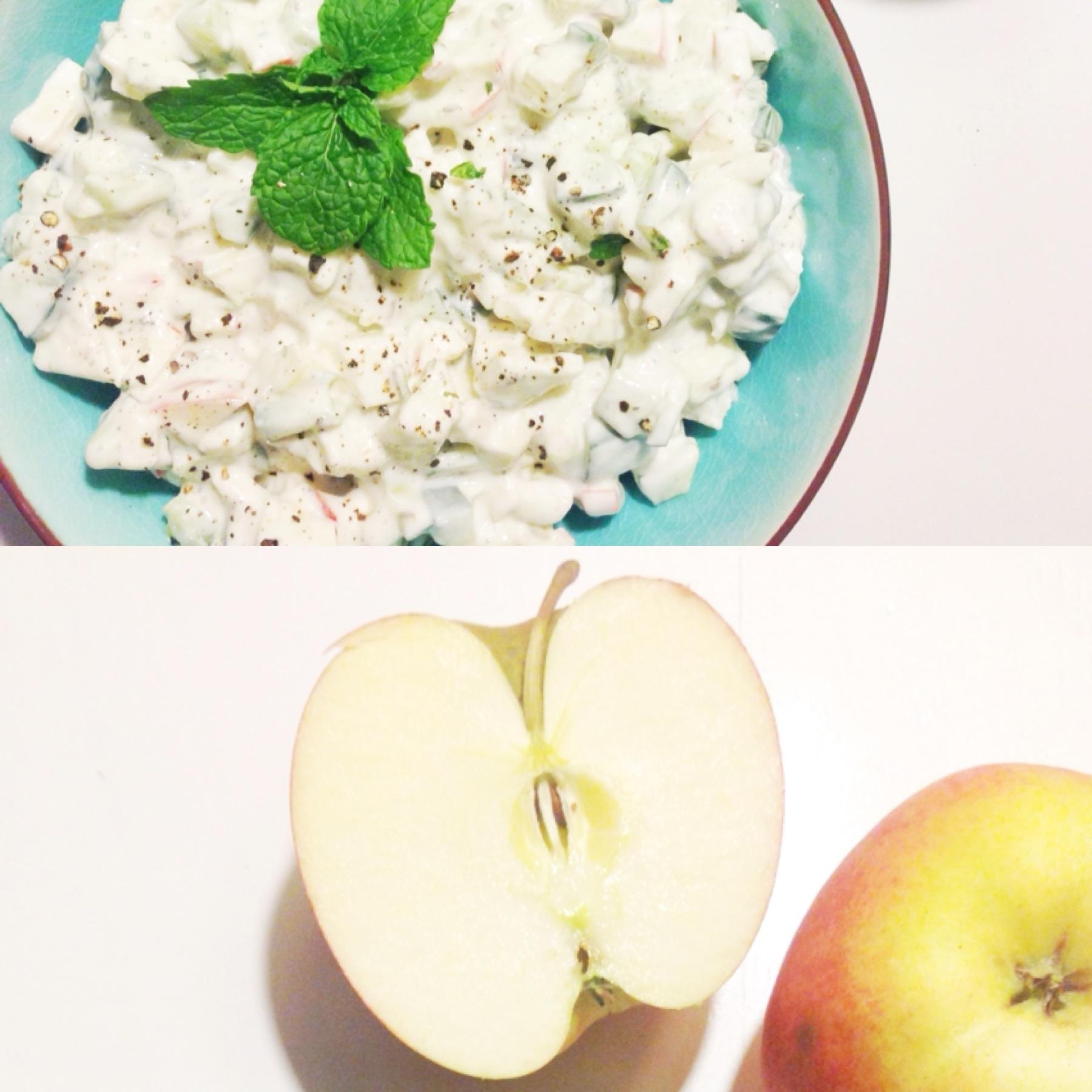 Raita med et twist - og tre ingredienser