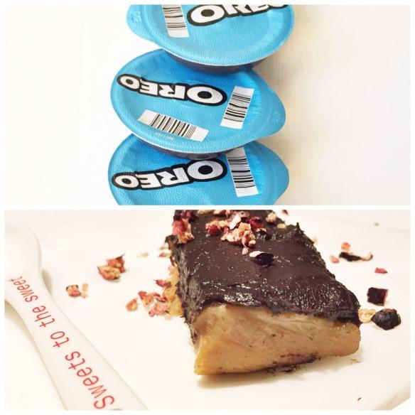Raw chokoladekage med oreo og karamel