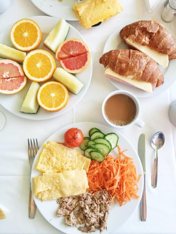 Morgenmad på Sandos Papagayo Beach Resort