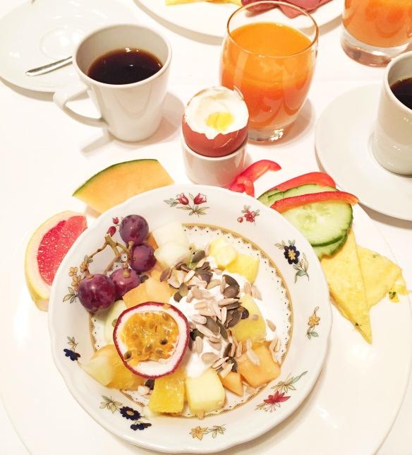 Morgenmad på Hotel Nobis