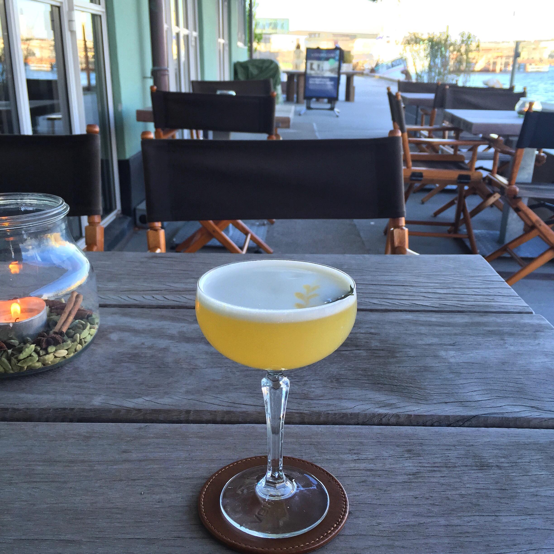 Quinine Sour på Verandahs veranda :)