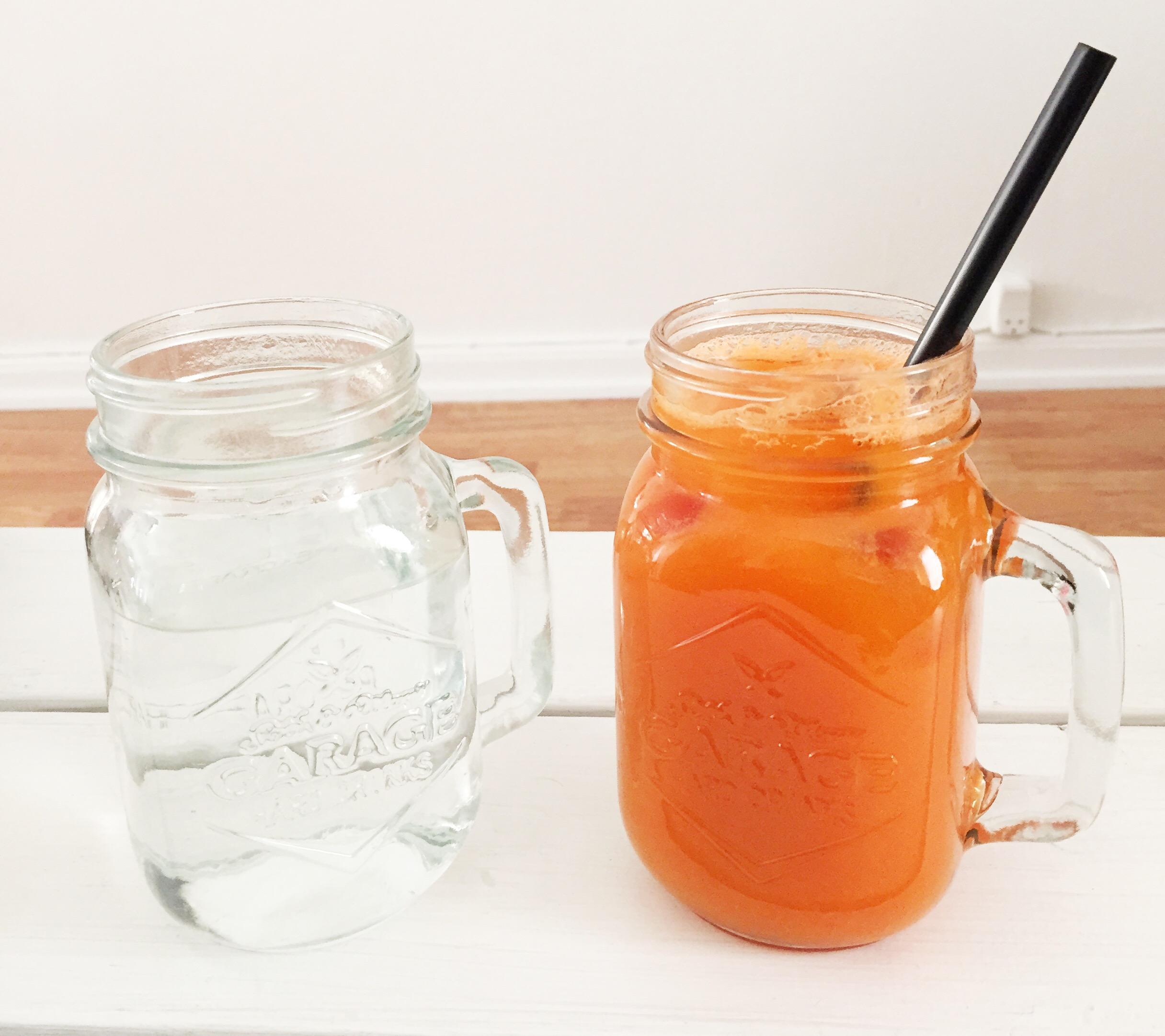 Juice fra Protein-Baren