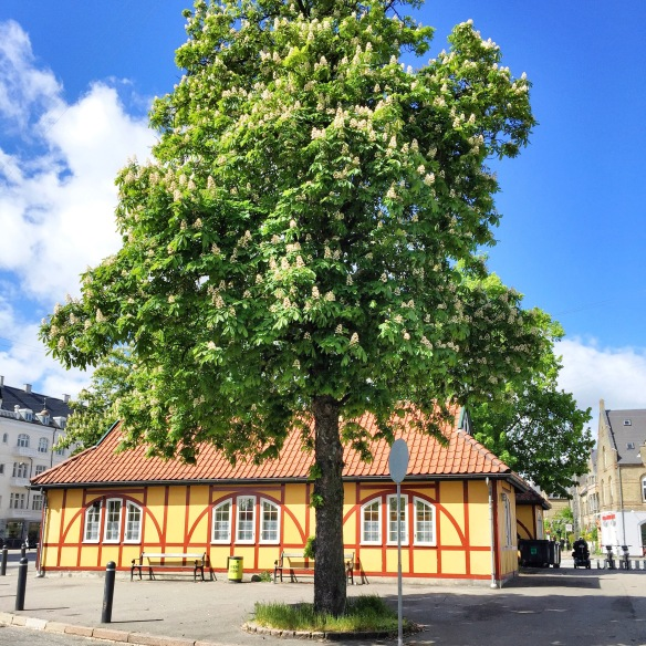 Loppemarked lige ved Svanemøllen station - hver søndag indtil september.
