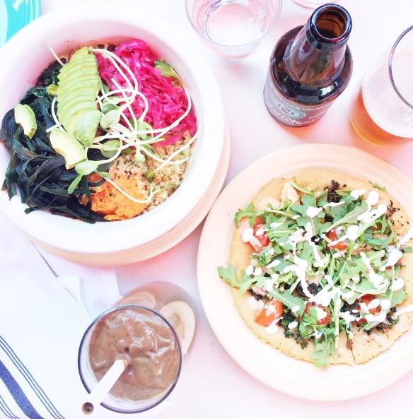 Café Gratittude i LA