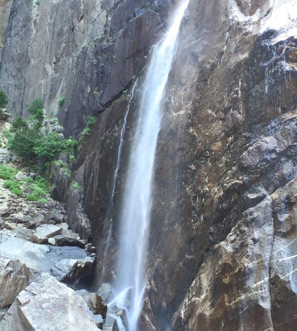 Vandfald i Yosemite