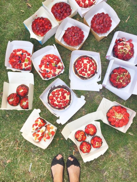 Byens bedste jordbærtærte