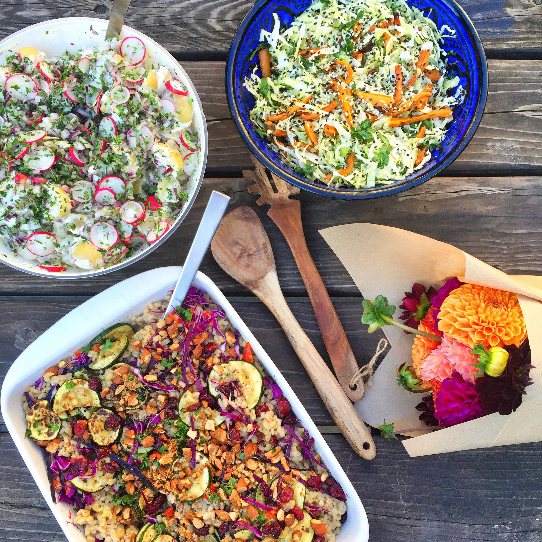 Grill i gården - sommer i København