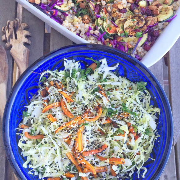 Lynhurtige salater til fest...
