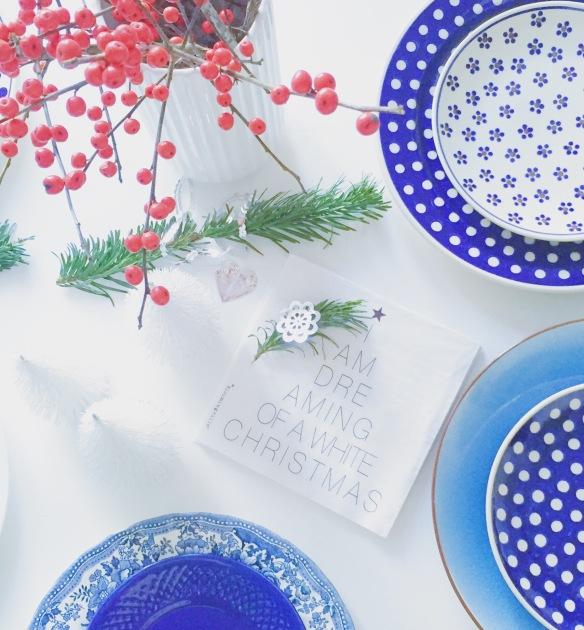 Julefrokost borddækning