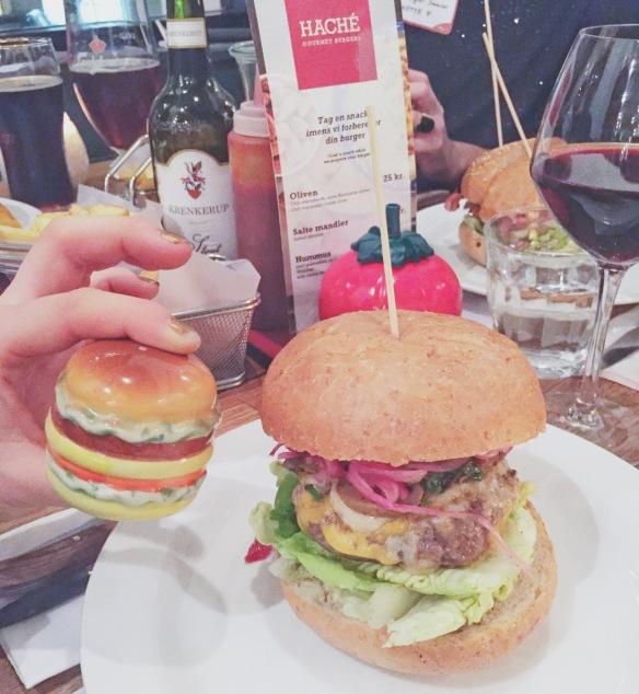 Burger på Haché