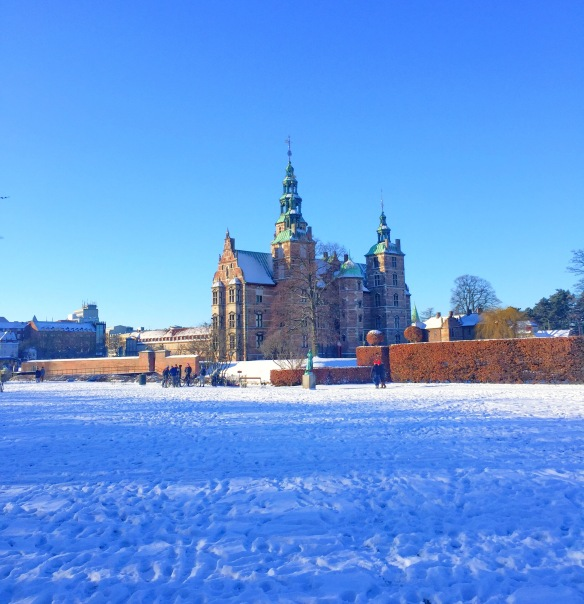Kongens Have med sne