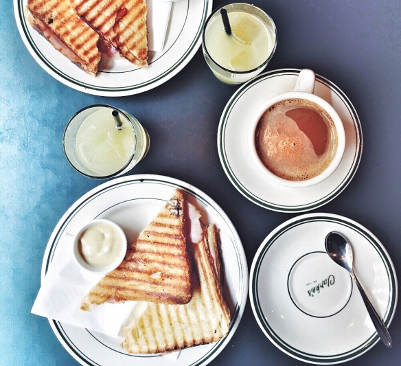 Toast hos Clarke's