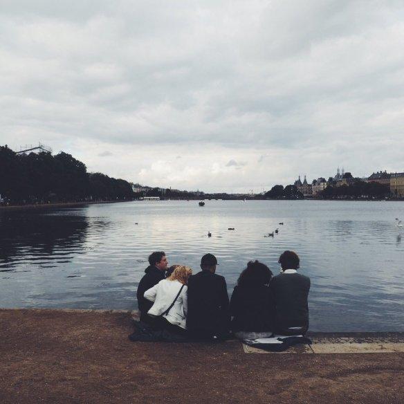 Hygge ved Søerne