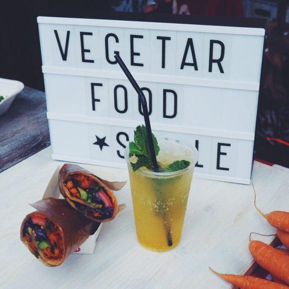 Vegetar Foodstyling i Yelp-teltet